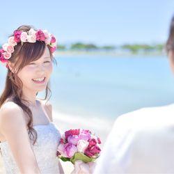 【ハワイ式】支度〜ビーチ撮影の写真 17枚目