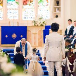 結婚式♡挙式〜バルーンリリースの写真 17枚目