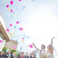 結婚式♡挙式〜バルーンリリースの写真 5枚目