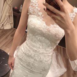 ウェディングドレス試着の写真 1枚目