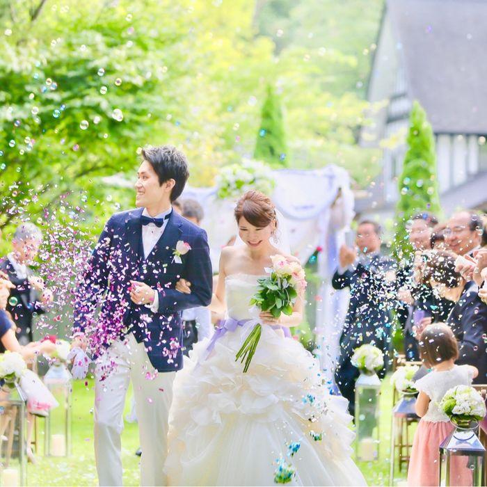 a0124k.weddingさんの星野リゾート 軽井沢ホテルブレストンコートカバー写真