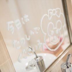 女子トイレ装飾の写真 1枚目