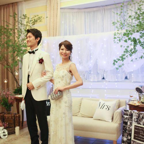 a0124k.weddingさんの星野リゾート 軽井沢ホテルブレストンコート写真4枚目
