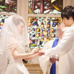 結婚式♡挙式〜バルーンリリースの写真 18枚目