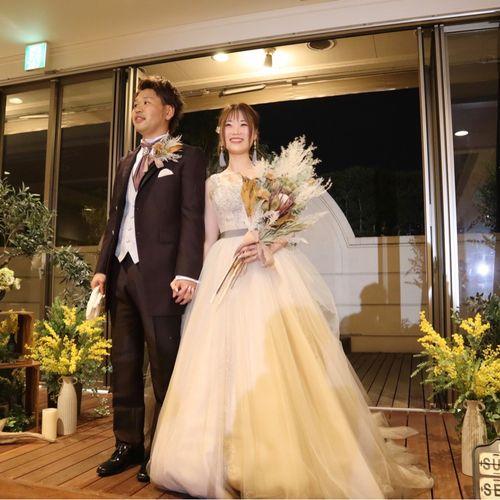 wedding_t0920さんのヒカリフルコート写真5枚目