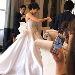 披露宴weddingdressの写真 3枚目