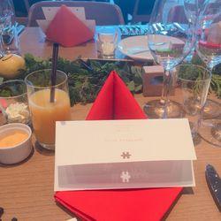 ゲストテーブルの写真 1枚目