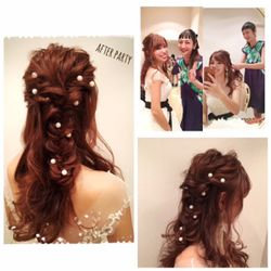 カラードレス&二次会hairの写真 3枚目