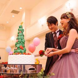 二次会ウエディングケーキの写真 2枚目
