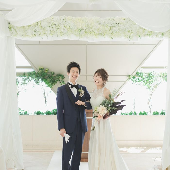 ayk.y.weddingさんの横浜ロイヤルパークホテル(横浜ランドマークタワー内)写真1枚目