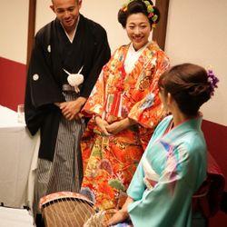 結婚式前夜祭(ウェルカムパーティ大江戸温泉)の写真 9枚目