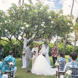 【ハワイ】挙式の写真 1枚目