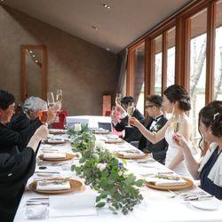 軽井沢石の教会【食事会】の写真 9枚目