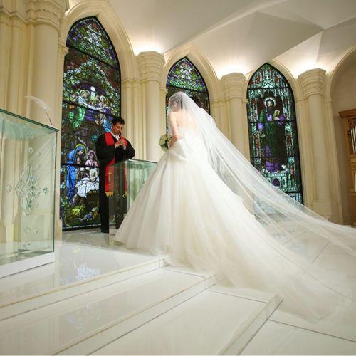 mitsu_weddingさんのセント・ラファエロチャペル銀座写真4枚目