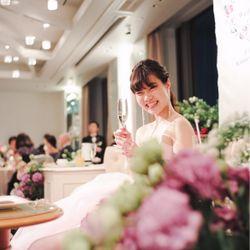 食いしん坊で陽気な花嫁の写真 2枚目
