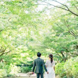 洋装前撮り 森の写真 1枚目