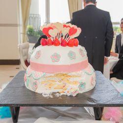 ウェデイングケーキの写真 3枚目