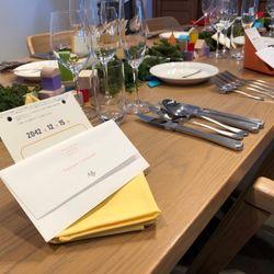 ゲストテーブルの写真 3枚目