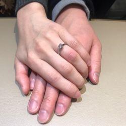 婚約指輪の写真 3枚目