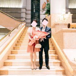 挙式後のサプライズプロポーズの写真 2枚目