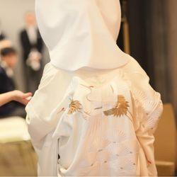 𓂃 𓈒𓏸𑁍神前式(白無垢)の写真 2枚目