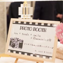 結婚式♡外観・ウェルカムスペースの写真 5枚目