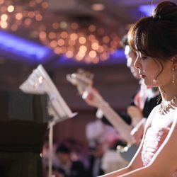 新郎新婦ピアノ×ベース演奏の写真 4枚目