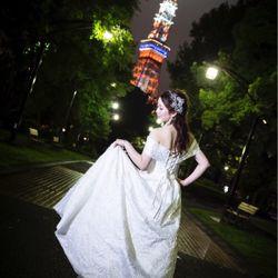 東京駅・東京タワー前撮りの写真 12枚目