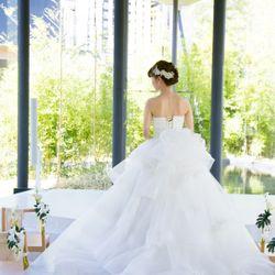 ウェディングドレス前撮りの写真 2枚目