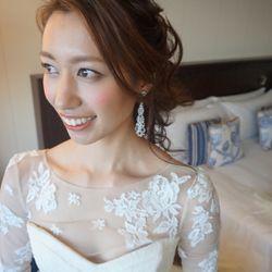 ドレス&ヘアスタイルの写真 9枚目