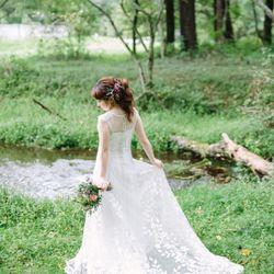 前撮りドレスの写真 11枚目
