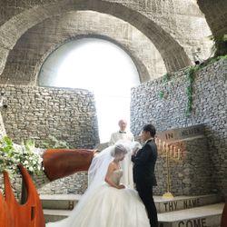 石の教会 挙式の写真 6枚目