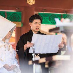 挙式@鶴岡八幡宮の写真 11枚目