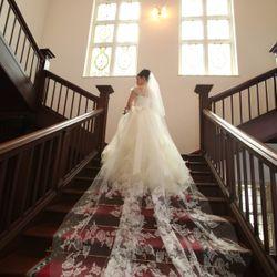 披露宴第二部 ウェディングドレスの写真 1枚目