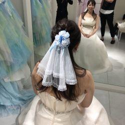 ドレス・髪型の写真 9枚目
