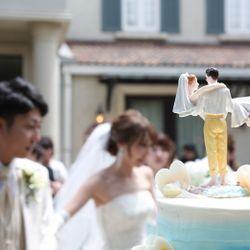 ウェルカムパーティ_ケーキ入刀の写真 3枚目