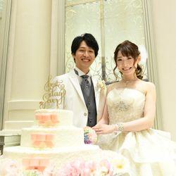 ケーキ入刀〜ファーストバイトの写真 6枚目