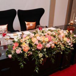 装花テーブルの写真 4枚目