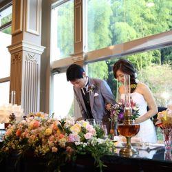 装花テーブルの写真 7枚目