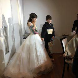 披露宴ウェディングドレスの写真 4枚目