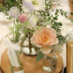 高砂 テーブル装花の写真 5枚目