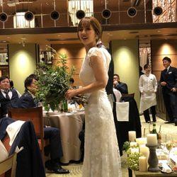 2着目ウェディングドレスの写真 2枚目