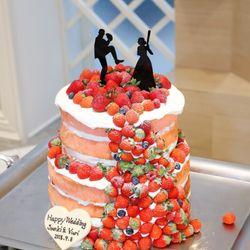 ケーキカットの写真 2枚目