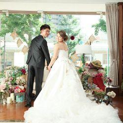 前撮り ウエディングドレスの写真 2枚目