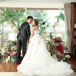 前撮り ウエディングドレスの写真 3枚目