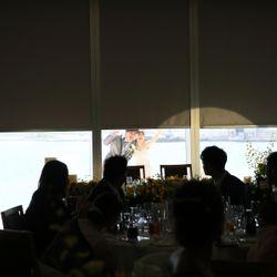 披露宴 ウェディングドレスの写真 3枚目