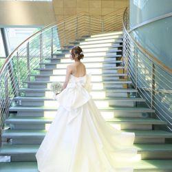 挙式ウェディングドレスの写真 2枚目