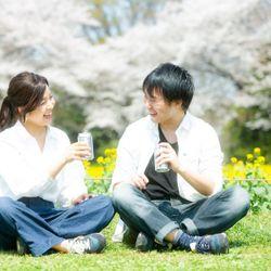 桜エンゲージメントフォトの写真 4枚目