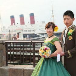 東京ディズニーシーでの前撮り(FMH)の写真 2枚目