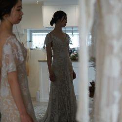 ドレス試着の写真 5枚目